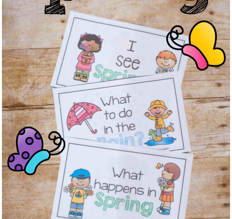 FREE Simple Spring Early Readers