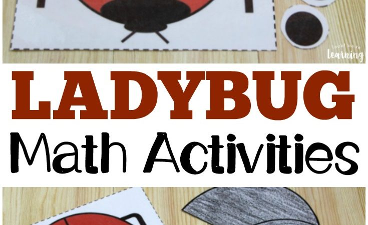 Free Ladybug Math Activities