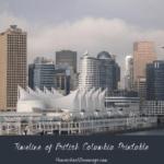 Printable Timeline of British Columbia Freebie