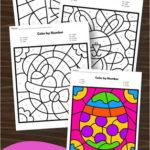Easter Color-by-Number Printables
