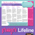 FREE Homeschool Mom's Lifeline Prayer Guide