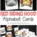 FREE Little Red Riding Hood Alphabet Cards