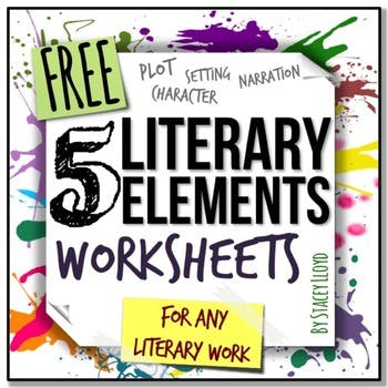 Free Literary Elements Worksheets