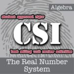 Free CSI: Algebra Activity
