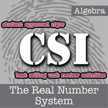 Free CSI: Algebra Activity