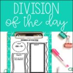 Free Division of the Day for Upper Grades (4th-6th)