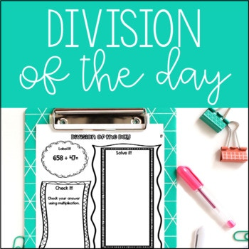 Do your kids need some extra long division practice? Try this FREE Division of the Day resource! This resource contains 30 days of repetitive division practice. :: www.thriftyhomeschoolers.com