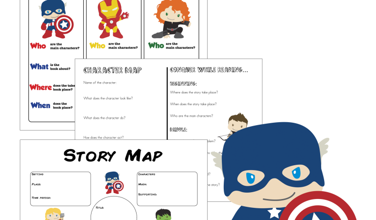Free Superhero Reading Comprehension Worksheets