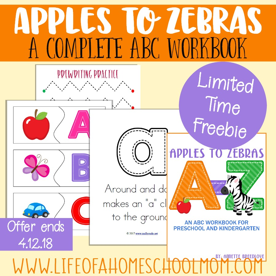 This 680+ page digital download is the perfect way to get kids started learning their letters while working on their handwriting and beginning sounds. Regularly $24.99, but for ONE WEEK ONLY, you can download this amazing resource absolutely FREE! (Offer ends 4.12.18) :: www.thriftyhomeschoolers.com