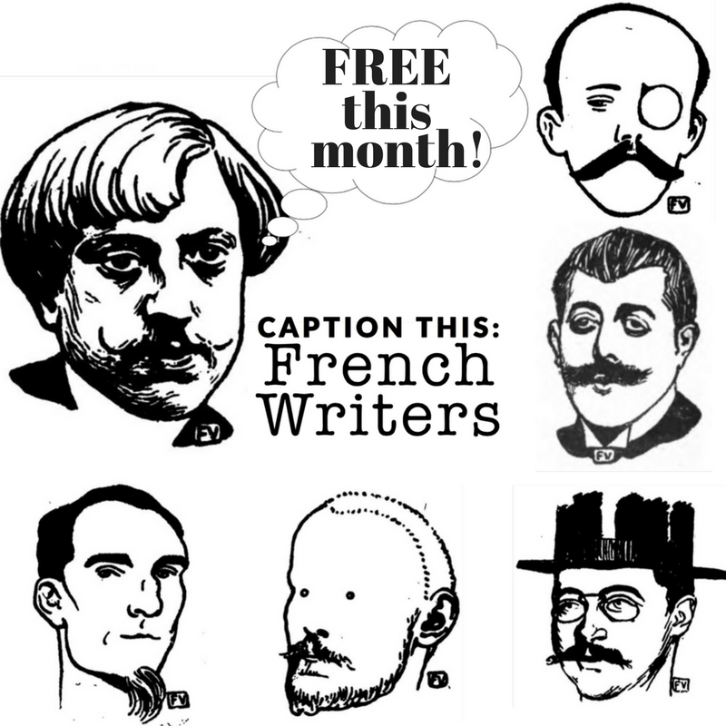 Enjoy some effortless language arts fun while introducing your kids to this collection of fun woodcut portraits of French writers by artist Felix Vallotton! :: www.thriftyhomeschoolers.com