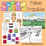 Printable Spring Playset Freebies