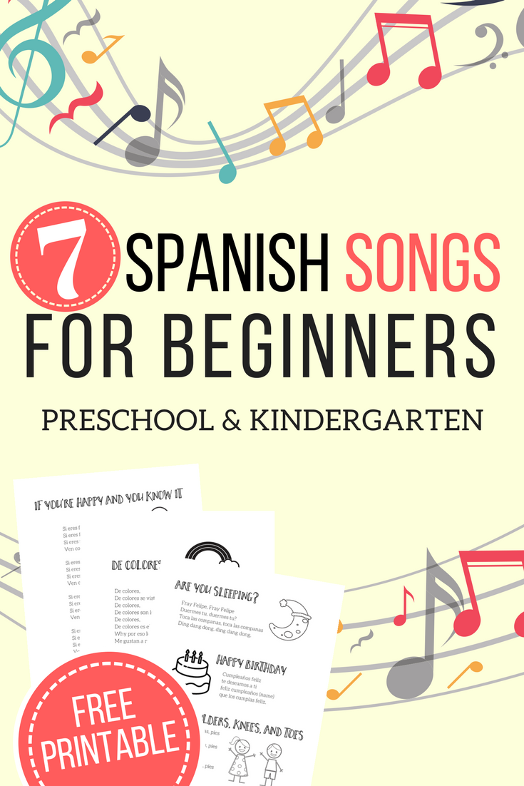Using Spanish songs is a great way to introduce preschool and kindergartners to a new foreign language. This gentle and fun introduction will inspire a love of languages and open the door to Spanish instruction in your homeschool.