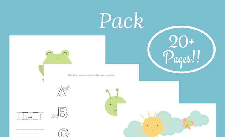 Free Springtime Preschool Printable