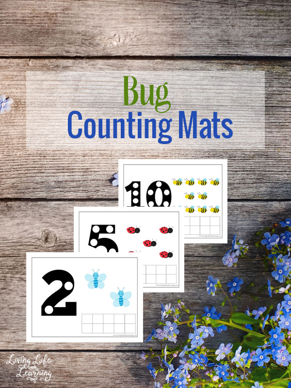 Your child will have a blast fine-tuning their counting skills with these cute counting mats. So bring out the counters and print out your free copy of these mats and let the fun begin.