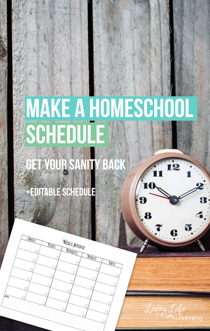We all know that coming up with a routine and schedule is important. Sometimes, things change and our routines need to change as well. This editable schedule could be just what you need to keep you organized and right on track.