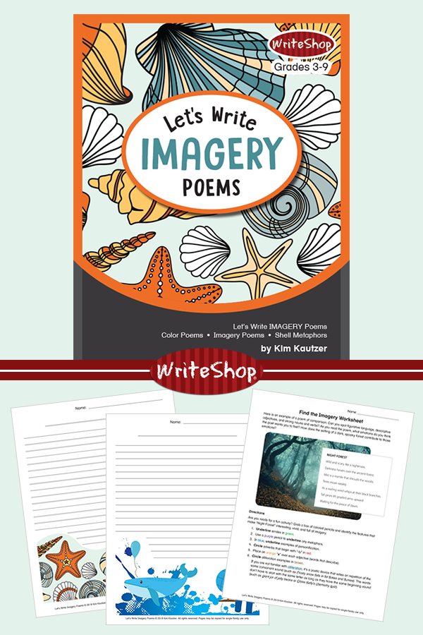 This unit study gives your children (ages 8-14) step-by-stepdirectionsfor using imagery tocompose their own poems. Get the unit study for free for a limited time! :: www.thriftyhomeschoolers.com