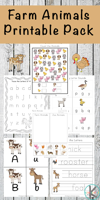 If you are looking for a way to help your young learner in literacy, basic math skills and handwriting then this 90-page farm worksheet pack is for you. Inside, you will find endless amounts of activities to help your young one learn and it is all included on cutely themed worksheets.
