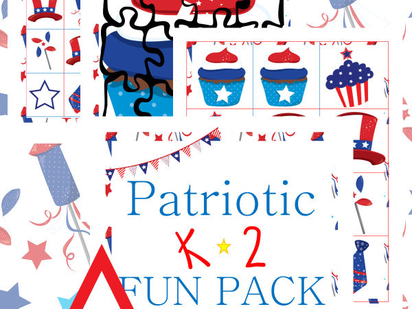 Free Patriotic K-2 Fun Pack