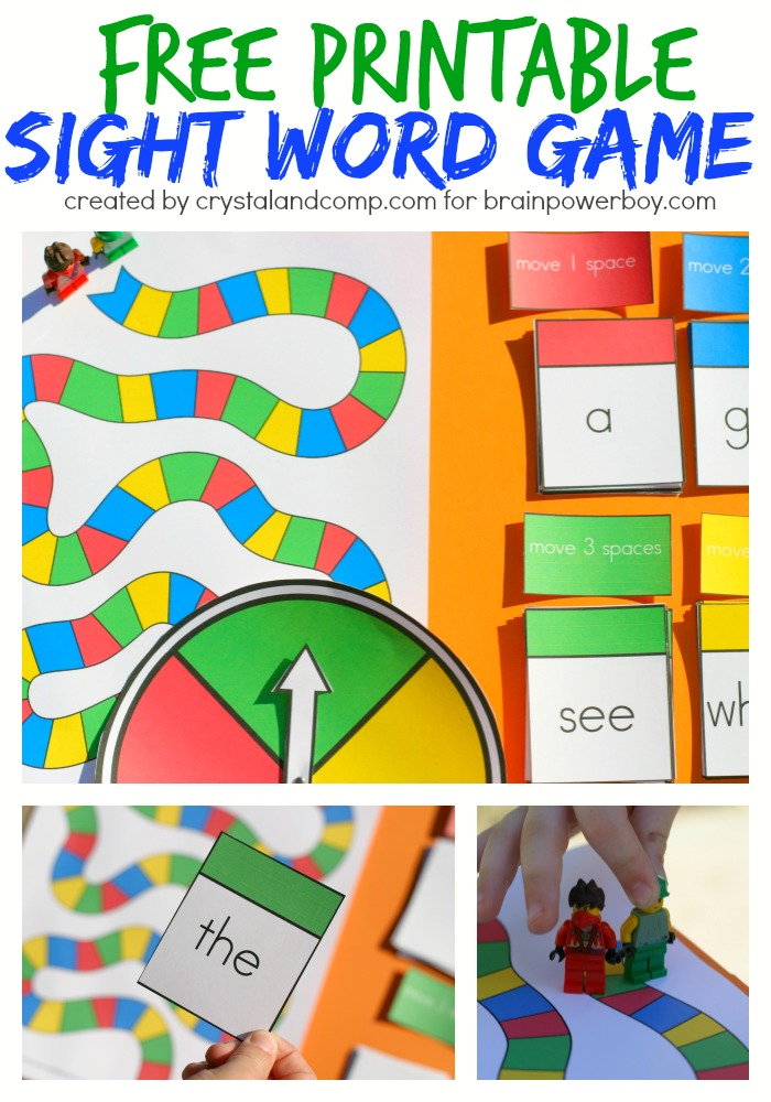 Teaching your young one to read just got a little easier with this fun game! Not only will they learn how to recognize sight words but they will so have a blast doing so.