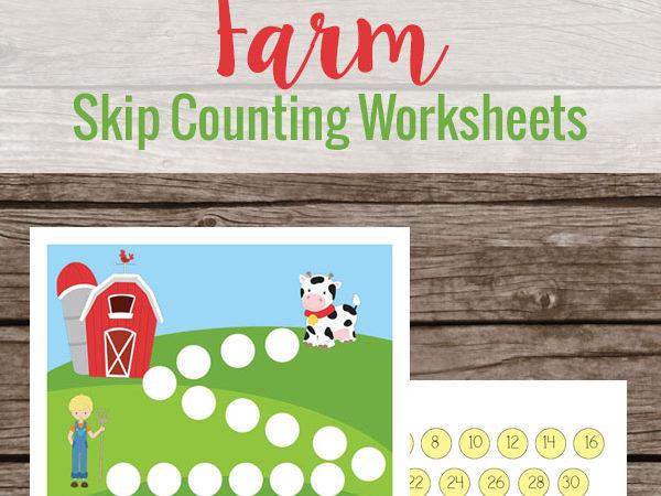 Farm Skip Counting