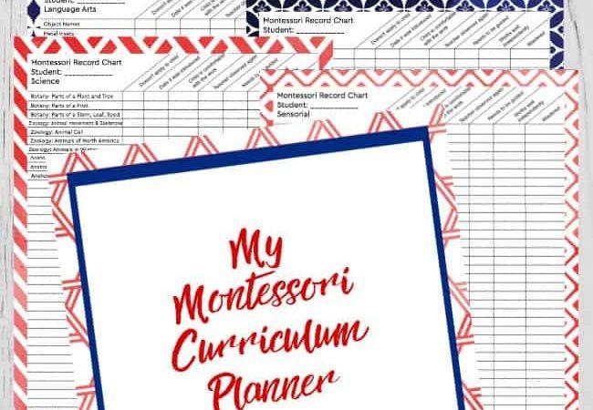 Free Montessori Curriculum ~ Practical Life Activities Checklists