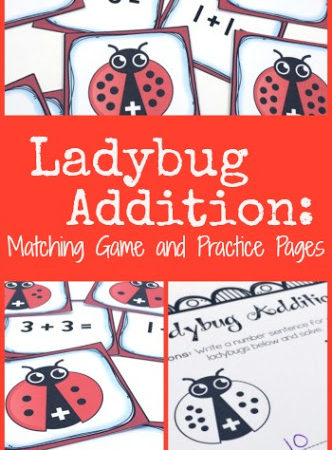 Ladybug Addition Math Game