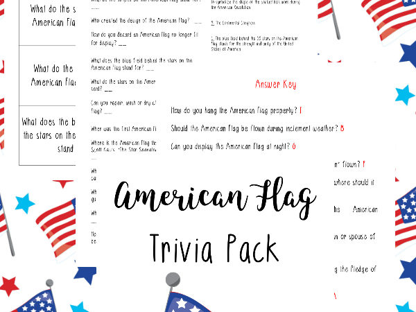 American Flag Trivia Pack