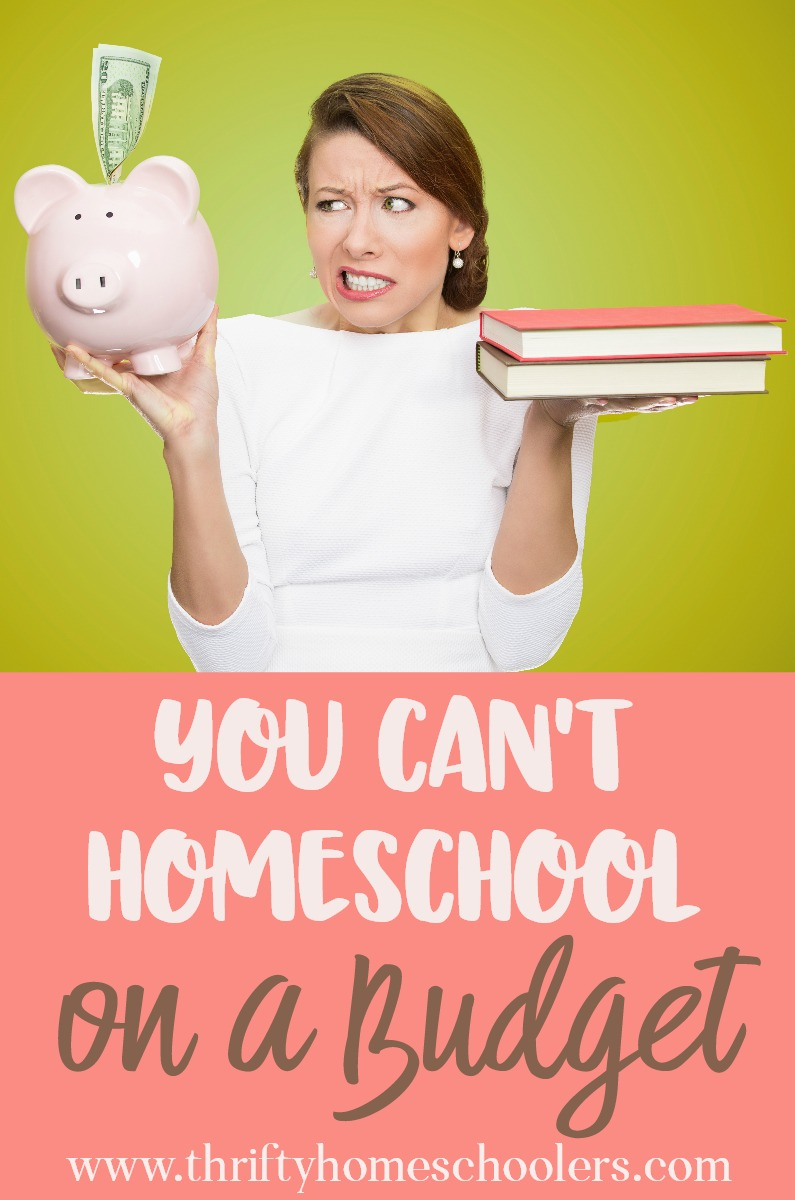 "There are many reasons I hear people give me for why they can't homeschool. After 8 years on this journey, I just don't think ""budget"" should be one of them! However, these are 3 reasons you Can't Homeschool on a Budget! :: www.thriftyhomeschoolers.com"