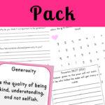 Generosity Printable Pack