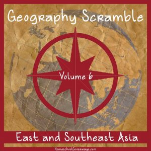 Geography Scramble-East and Southeast Asia