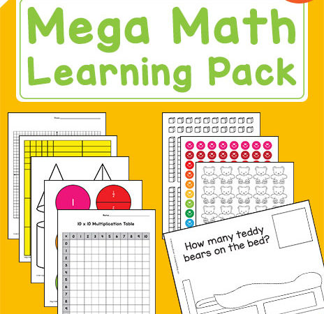 Free Mega Math Learning Pack