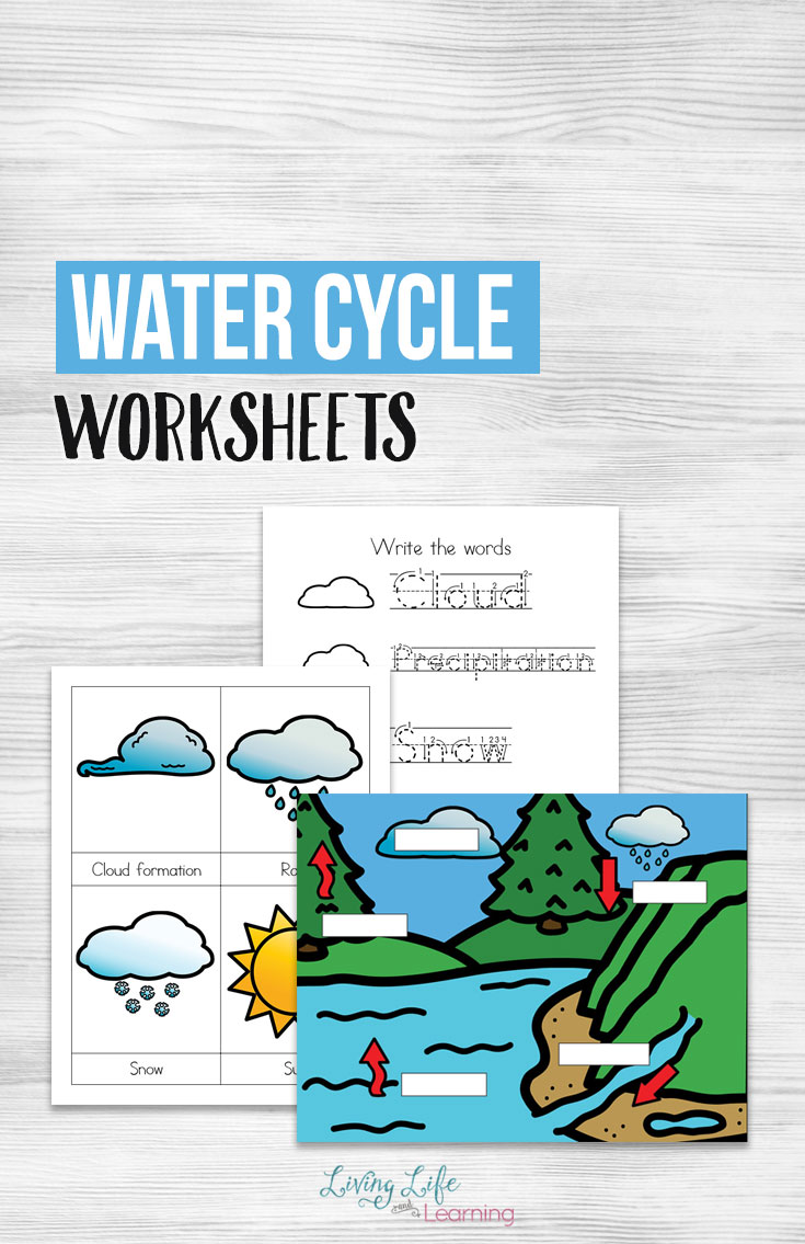 Learning about the water cycle can be a little hard for kids to grasp without visual aids. This learning pack will help your young learner begin to see and identify the various elements of the water cycle. :: www.thriftyhomeschoolers.com