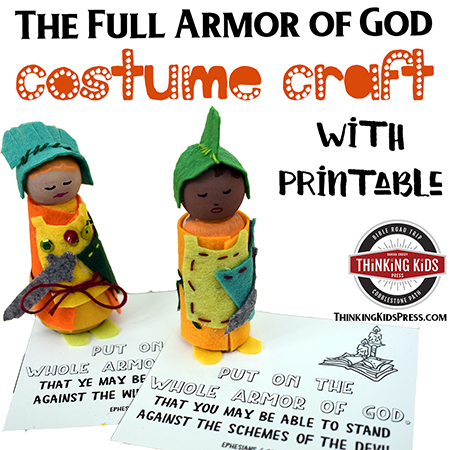 Armor of God Bible Craft