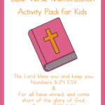 FREE Bible Verse Activity Pack for Kids
