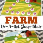 FREE Dot Marker Farm Printables