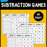 FREE No-Prep Subtraction Games