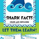 Shark Facts Color & Copywork {LIMITED TIME ends 7.31.18}