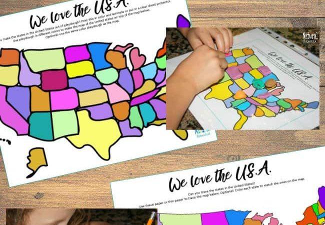 Printable United States Maps