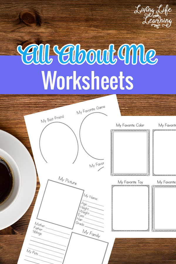 At the beginning of the year, it is always a great idea to have your children do some sort of project that requires them to do a little writing and to be creative. This way at the end of the year you can pull said project out and see just how far they have come in the year. These free About Me Worksheets are perfect for that. With this printable, your child will have places to write in facts and draw pictures of themselves.