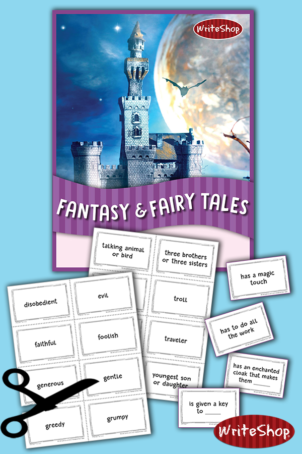 Do your kids love fairy tales? Then they will love these Fantasy & Fairy Tales Story Starters - FREE thru September 2018! :: www.thriftyhomeschoolers.com