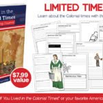 LIMITED TIME: Living in the Colonial Times Notebooking Pages