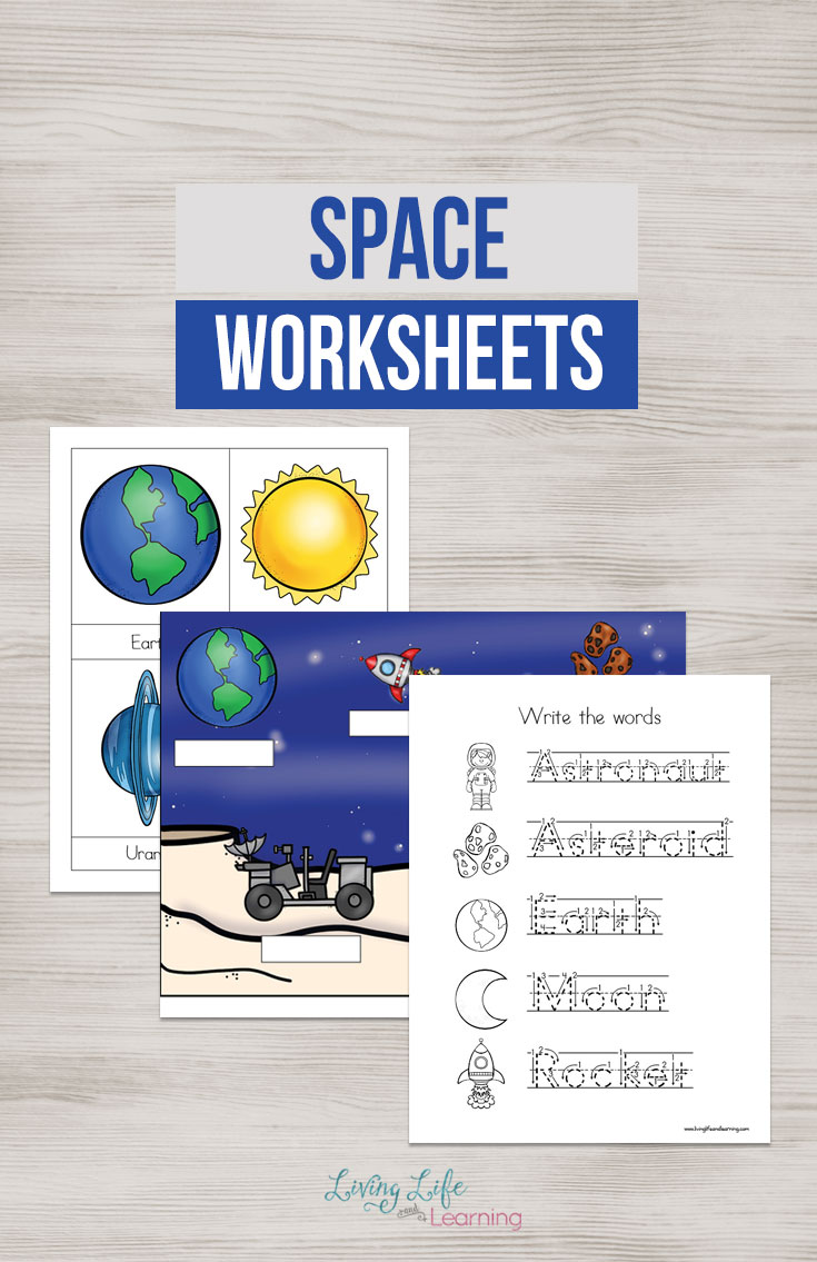 Help your young astronaut dig a little deeper with this fun outer spaceprintable pack. Inside you will find handwriting sheets, labeled cards, pages for your young learner to label and more.