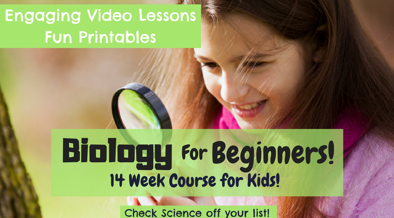 If you struggle to teach your child science, you might want to check out this limited time freebie. This freebie will give you access to the Unit One videos with the accompanying freebie for Biology for Beginners! :: www.thriftyhomeschoolers.com