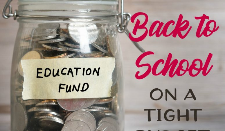 How to Prepare for Back to School on a Tight Budget