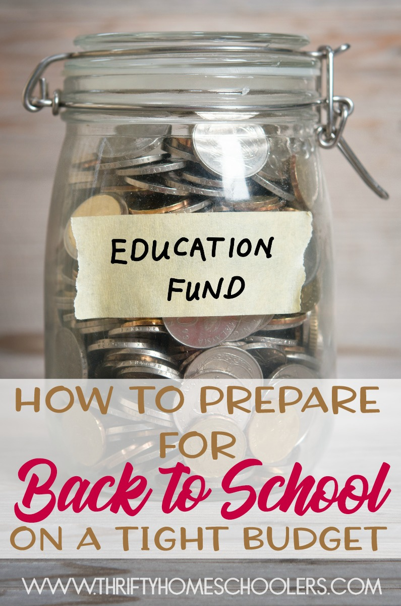 Back to school shopping is here, but that doesn't mean you have to spend thousands or even hundreds of dollars. Through the years I have spent more than I care to admit on school supplies, but I have also learned how to prepare for the upcoming year on a very tight budget. Check out my top 4 tips! :: www.thriftyhomeschoolers.com