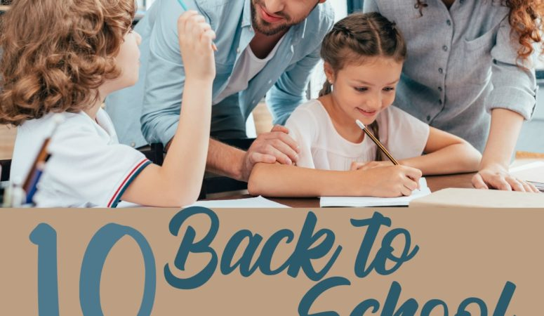 10 Back to School Tips for Parents