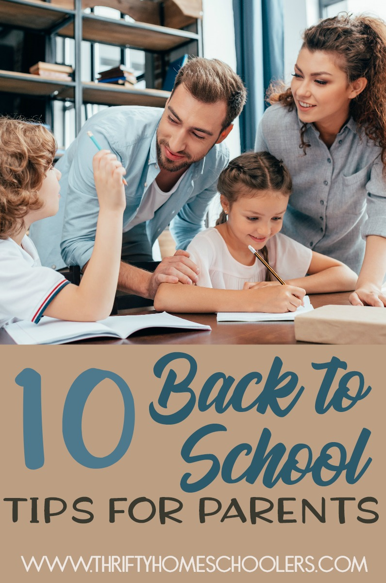 Whether this is your first year preparing for school or you're a veteran, here are 10 tips we use each year to help us prepare with out the stress and worry! :: www.thriftyhomeschoolers.com