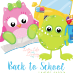 These Back to School Lacing Cards are a perfect addition to your homeschool manipulative collection! Not only are they cute but your children will enjoy practicing their hand and eye coordination while gearing up for the new school year. :: www.thriftyhomeschoolers.com