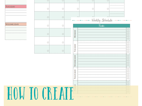 Creating a Weekly Homeschooling Schedule