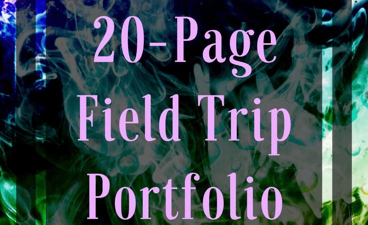 Free Field Trip Portfolio Pack
